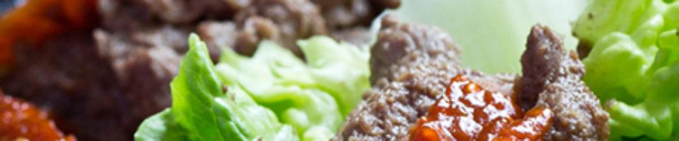Korean Bulgogi <br>with Beef